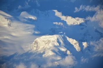 Vistas aéreas das montanhas e glaciares do sul do Chile // Fotos y adición por: Felipe Arruda (viajandonaviaje.com)