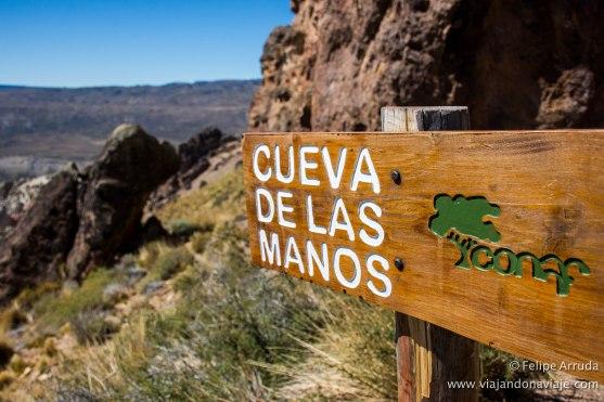 """Serie: Descubriendo Aysén // Fotos y Edición: Felipe """"Pipo"""" (viajandonaviaje.com) // Cueva de las Manos"""