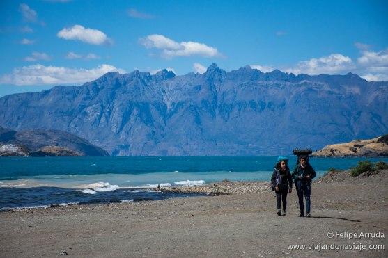 """Serie: Descubriendo Aysén // Fotos y Edición: Felipe """"Pipo"""" (viajandonaviaje.com) // Río Tranquilo"""