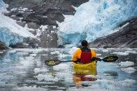 """Fiordo Parry en Kayak // Serie fotográfica: """"Terra Incognita"""" // Fotos y Edición: @Felipe """"Pipo"""" Viajandonaviaje.com"""