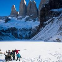 Base Torres en Invierno